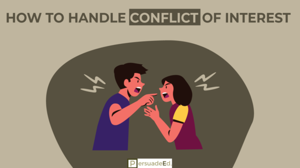 How to Handle Conflict of Interest