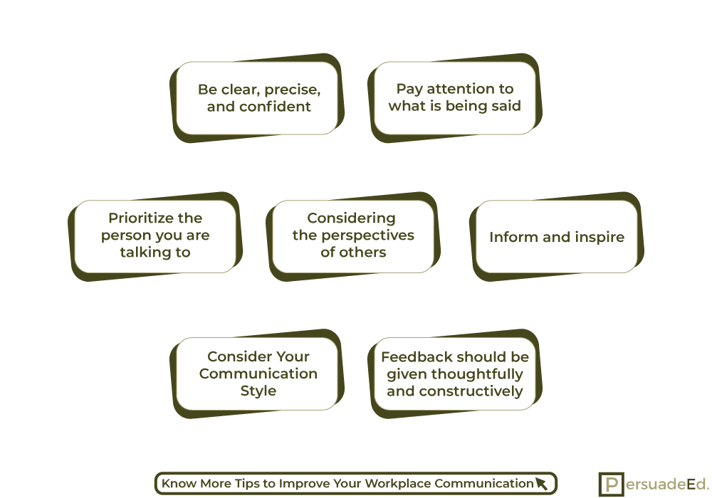 How to Improve workplace communication?