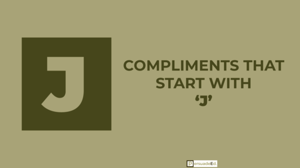 Compliments that start with j