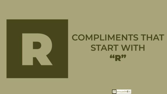 Compliments That Start with R
