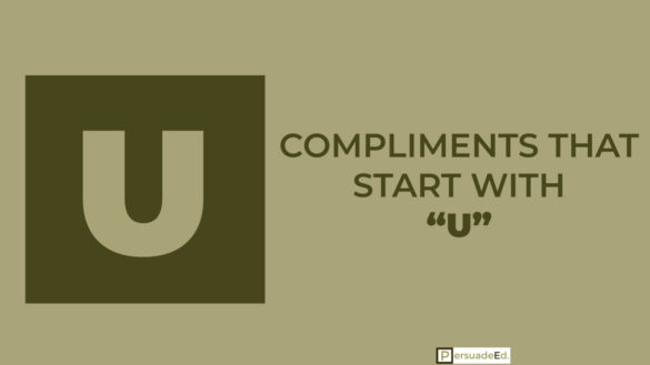 Compliments That Start With U