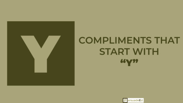 Compliments That Start With Y
