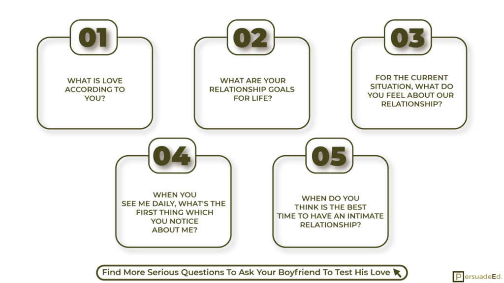 Serious Questions To Ask Your Boyfriend To Test His Love